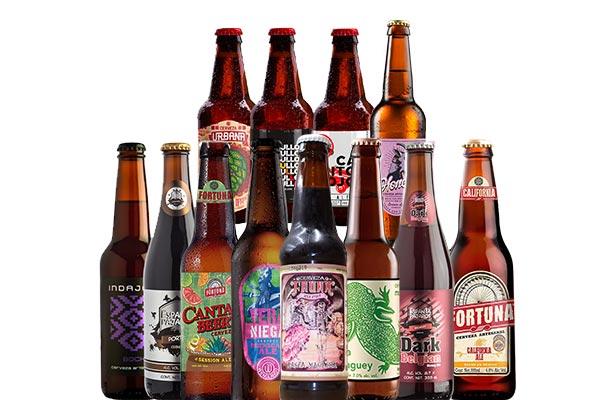 Pack de cerveza artesanal. La Selección de Top Beer