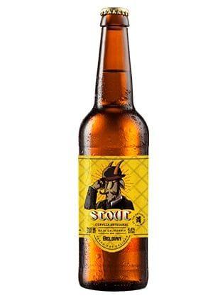 Cerveza Belgian Stout de cervecería El Chivo Gruñón
