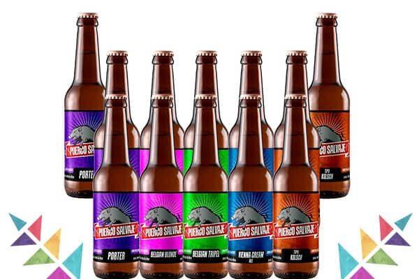 Puerco Salvaje Pack en Top Beer MX