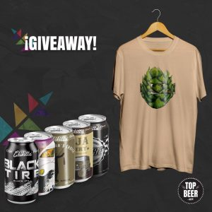TopBeer Giveaway Chikilla Craft Beer Enero 2020