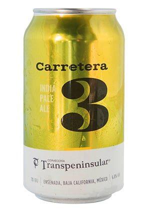 Carretera 3 Lata de cervecería Transpeninsular