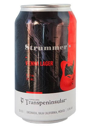 Cerveza artesanal Strummer's de Transpeninsular