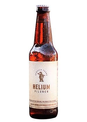 Cerveza Helium Pilsner Lager de Cervecería Fauna