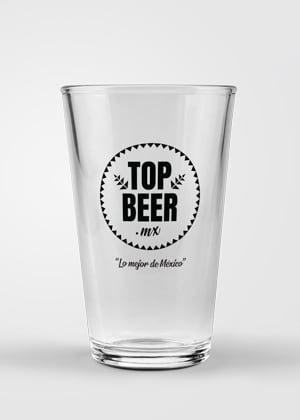 Vaso Top Beer