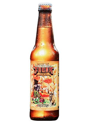 Cerveza Tristán, de cervecería Fauna.