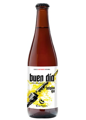 Cerveza Artesanal Buen Día. Belgian IPA