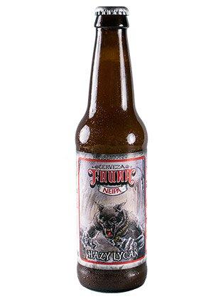 Cerveza Artesanal Hazy Lycan. NEIPA.