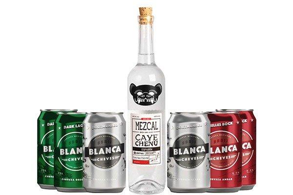 Chezcal México. Mezcal y cervezas pack