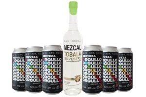 Chezcal Orgullo. El pack con Mezcal Lucha Libre y Cervezas Orgullo