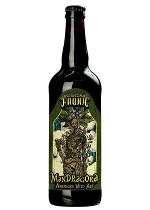 Cerveza Artesanal Mandrágora. De Cervecería Fauna.