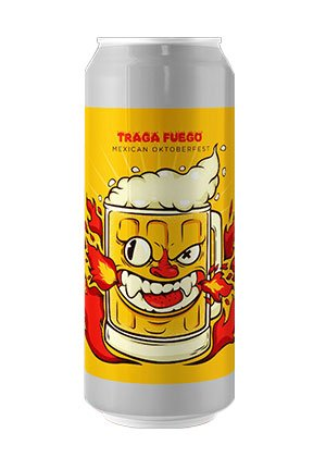 cerveza artesanal traga fuego
