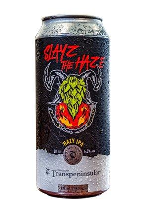 Cerveza Artesanal Slayz the Haze. IPA