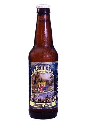 Cerveza Flecha Azul. Citrus Pale Ale de Cervecería Fauna.
