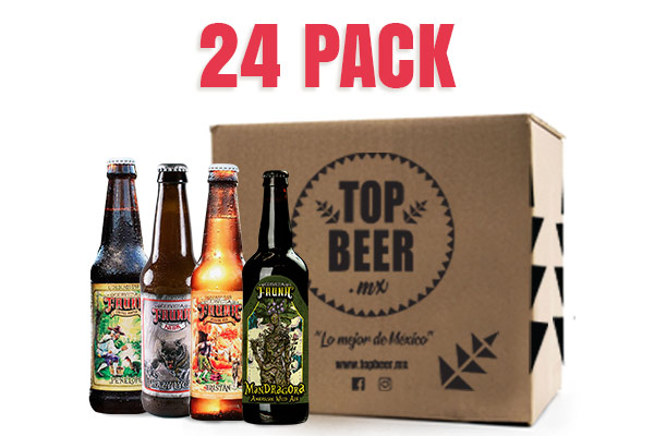 Cerveza Fauna pack de 24 cervezas artesanales