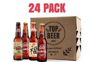 Pack de 24 cervezas Fortuna