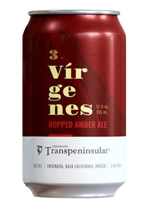 Cerveza Tres Virgenes