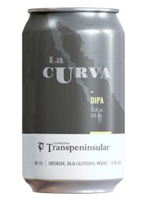 Cerveza La Curva. Doble IPA de Transpeninsular