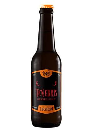 Cerveza Stout Tenebris de Legión