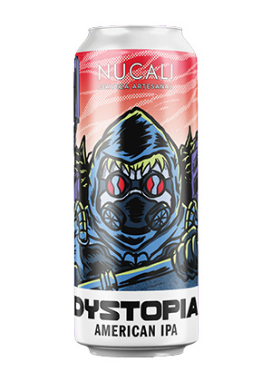 Cerveza Dystopia de Nucali. West Coast IPA