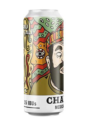 Cerveza Artesanal Lager. Chaman