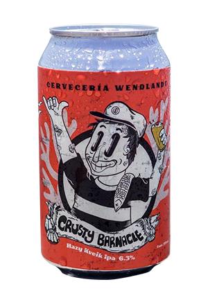 Cerveza Artesanal Crusty Barnacle IPA