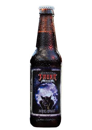 cerveza IPA Dark Lycan de cervecería Fauna