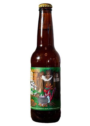 Cerveza Salamandra de fuego