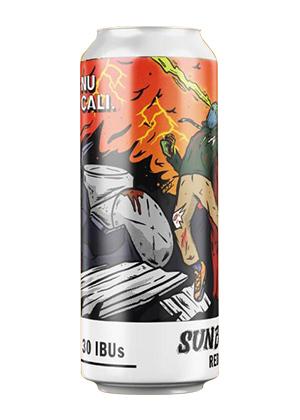 Sunburst. Red Ale Cerveza Artesanal Mexicana